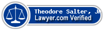 Theodore Salter, Jr.  Lawyer Badge