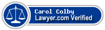Carol Smith Colby  Lawyer Badge