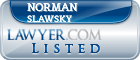 Norman Slawsky Lawyer Badge