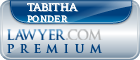 Tabitha Ponder  Lawyer Badge
