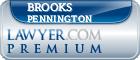 Brooks Pennington  Lawyer Badge