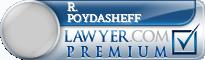 R. S. Poydasheff  Lawyer Badge
