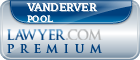 Vanderver R. Pool  Lawyer Badge