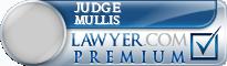 Judge H. Frederick Mullis  Lawyer Badge