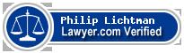 Philip Keith Lichtman  Lawyer Badge