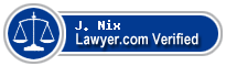 J. Lamar Nix  Lawyer Badge