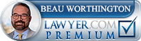 Beau Andrew Worthington  Lawyer Badge