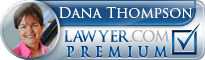 Dana M. Thompson  Lawyer Badge