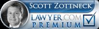 Scott William Zottneck  Lawyer Badge