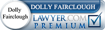 Dolly M. Fairclough  Lawyer Badge