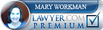 Mary J. Workman  Lawyer Badge