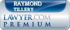 Raymond Evan Tillery  Lawyer Badge