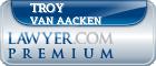 Troy Van Aacken  Lawyer Badge