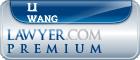 Li Kan Wang  Lawyer Badge
