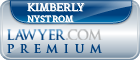 Kimberly Weiss Nystrom  Lawyer Badge