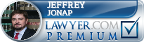 Jeffrey Stephen Jonap  Lawyer Badge