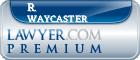 R. Leslie Waycaster  Lawyer Badge