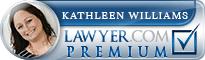 Kathleen Willcox Williams  Lawyer Badge