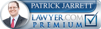 Patrick Lee Jarrett  Lawyer Badge