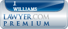 J. Jeffrey Williams  Lawyer Badge