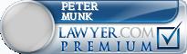 Peter L. Munk  Lawyer Badge