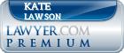 Kate Chaplin Lawson  Lawyer Badge