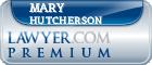 Mary Eva K Hutcherson  Lawyer Badge