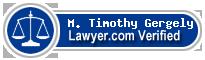 M. Timothy Gergely  Lawyer Badge