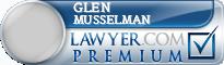 Glen E. Musselman  Lawyer Badge