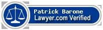 Patrick T. Barone  Lawyer Badge