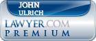 John M. H. Ulrich  Lawyer Badge
