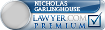 Nicholas Dean Garlinghouse  Lawyer Badge