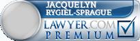 Jacquelyn A. Rygiel-Sprague  Lawyer Badge