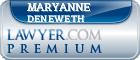 Maryanne J. Deneweth  Lawyer Badge