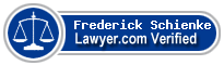 Frederick H. Schienke  Lawyer Badge