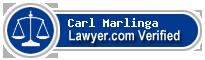 Carl J. Marlinga  Lawyer Badge