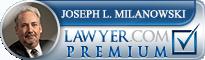 Joseph L. Milanowski  Lawyer Badge