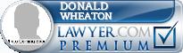 Donald C. Wheaton  Lawyer Badge