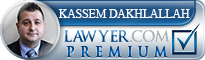 Kassem Mohamad Dakhlallah  Lawyer Badge