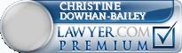 Christine M. Dowhan-Bailey  Lawyer Badge