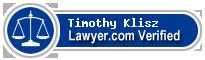 Timothy J. Klisz  Lawyer Badge