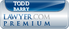Todd D. Barry  Lawyer Badge