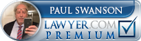 Paul R. Swanson  Lawyer Badge