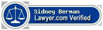 Sidney M. Berman  Lawyer Badge
