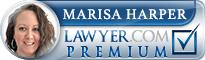 Marisa Ann-Mergos Harper  Lawyer Badge