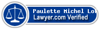 Paulette Michel Loftin  Lawyer Badge
