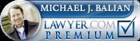 Michael J. Balian  Lawyer Badge