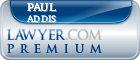 Paul B. Addis  Lawyer Badge