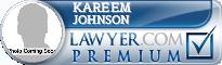 Kareem LaMount Johnson  Lawyer Badge