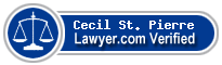 Cecil D. St. Pierre  Lawyer Badge